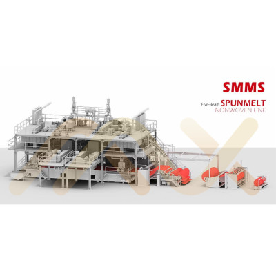 For Surgical Mask AZX-SMMS PP Spunmelt Composite Non Woven Fabric Making Machine