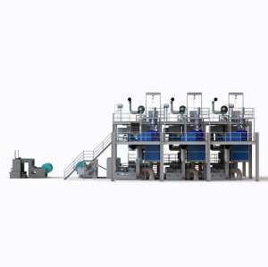 2400MM AZX-SSS PP Spunbond Nonwoven Fabric non woven machine