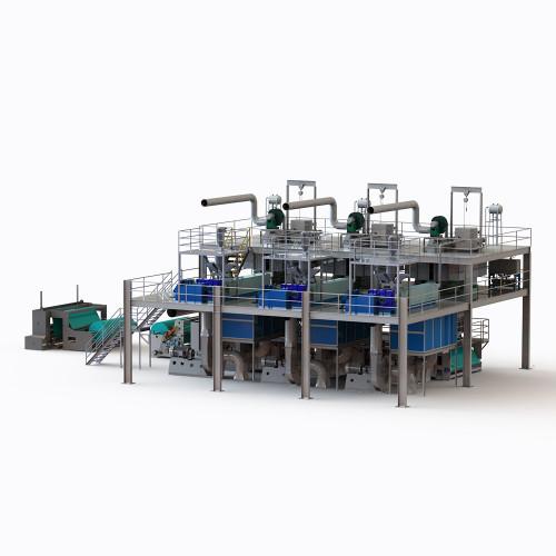 2400MM AZX-SSS PP Spunbond Nonwoven Fabric non woven machine