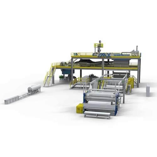 3200MM AZX-S PP spunbond production line