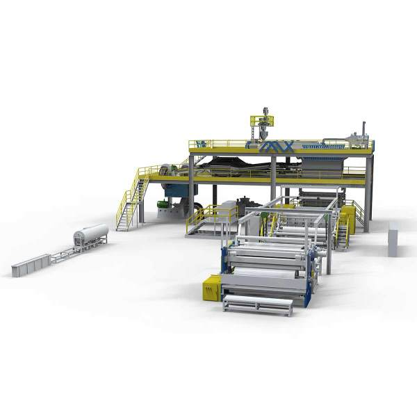 3200MM AZX-S PP spunbond production line