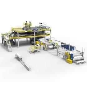 2400MM AZX-SS PP spunbond production line