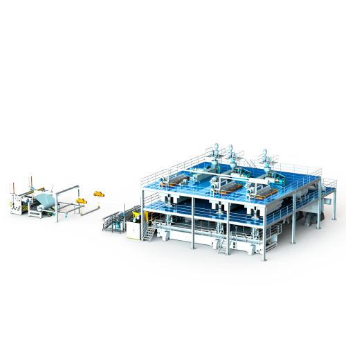 1600MM AZX-SSS PP spunbond production line