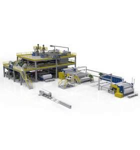 1600MM AZX-SMS PP Spunmelt spunbond production line