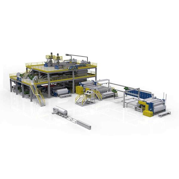 1600MM AZX-SMS PP Spunmelt spunbond production line
