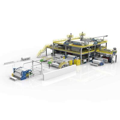 3200MM AZX-SMMS PP Spunbond Nonwoven Production Line