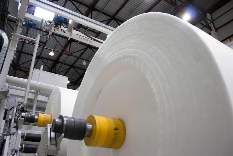 the setup process of the entire meltblown non-woven fabric machine