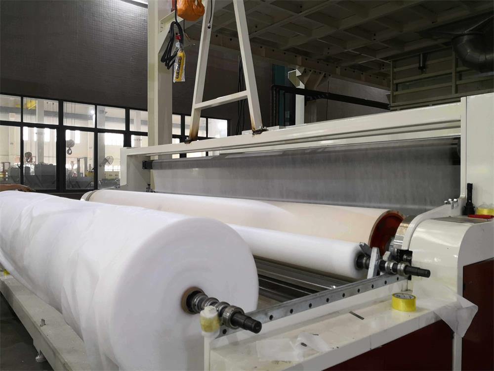 the performance and characteristics of the automated spunbond non-woven equipment