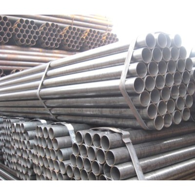 ASTM A53 Gr B/S235 Black ERW Carbon Steel Pipe Price Per Ton for greenhouses