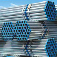 BS1387 Class B Galvanized Steel Pipe with Plain End Screwed