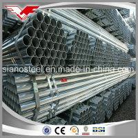 BS1387 Medium Grade Hot DIP Galvanized ERW Round Steel Pipes