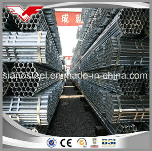 Hot DIP Galvanized Steel Round Pipe Used for Water Supply