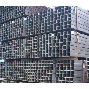 Q235B Construction Black Square and Rectangular Steel Tubes