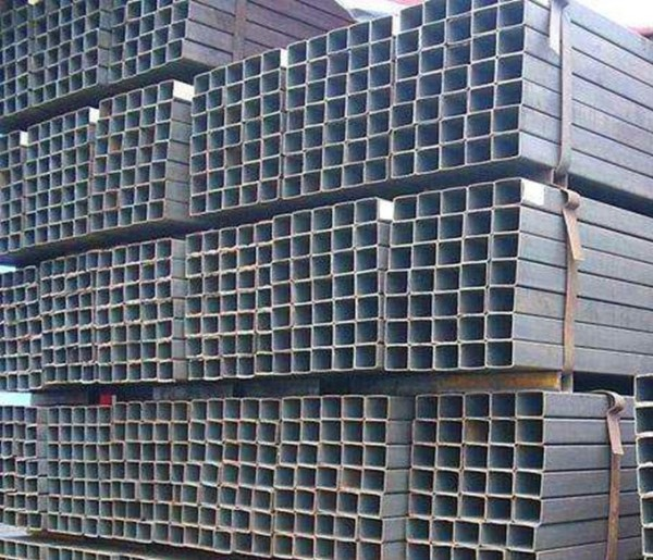 Q235B Construction Black Square and Rectangular Steel Tubes