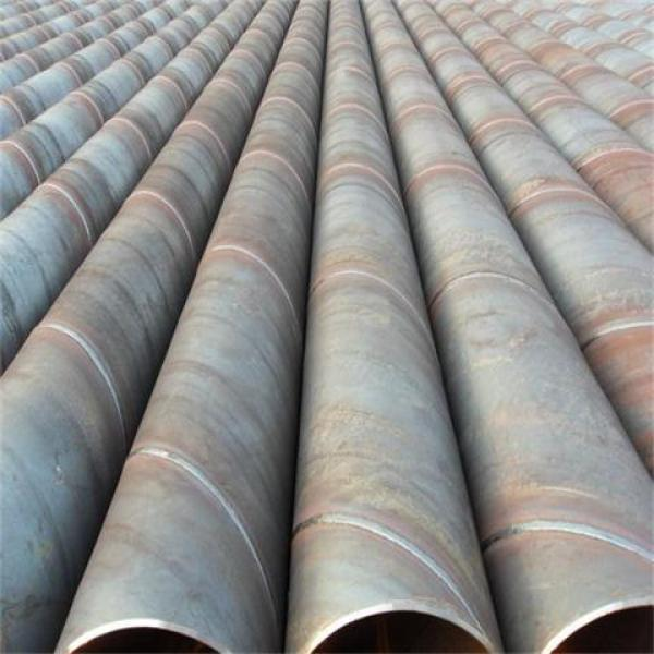 SSAW Water Pipe Line/Spiral Welded Steel Pipe Supplier
