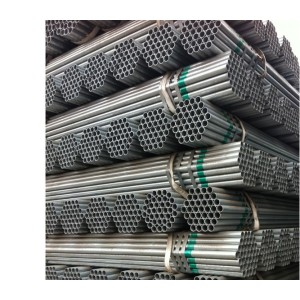 Galvanized Pipe Steel Pipes Hot Galvanized Q195 Thin Wall 1.5 Inch Galvanized Pipe Steel Pipes Manufacturer Sch40 Hot Dipped Galvanized Steel Pipe