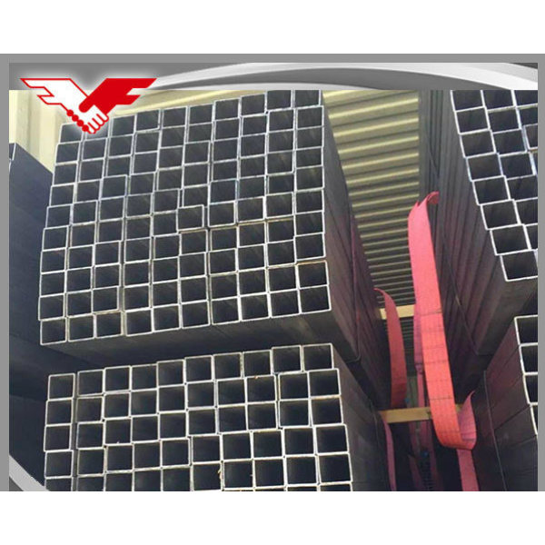 Construction Used Black Square and Rectangular Hollow Section Steel Tube