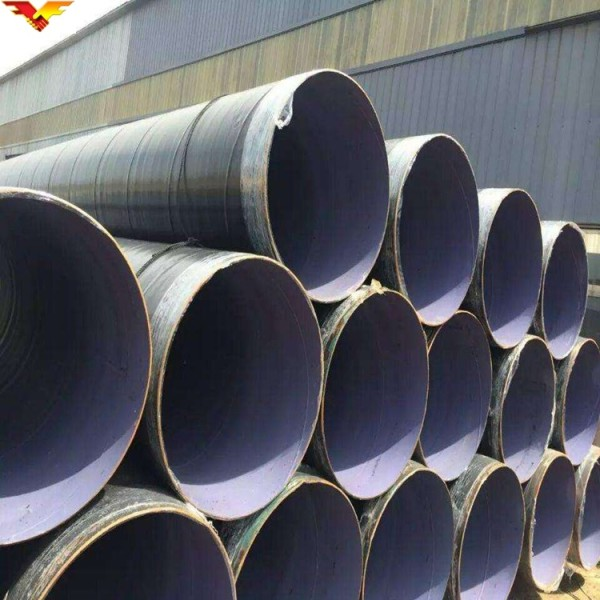 Low Price Hot Sale API 5L Black Painted Spiral Welded Steel Pipe