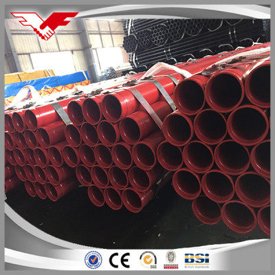 ASTM A53 Gr B/S235 Black ERW Carbon Steel Pipe Price Per Ton