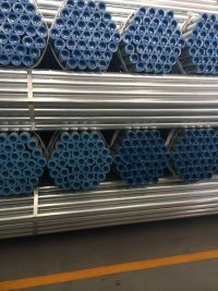 BS1387 Hot Dipped Galvanized Steel Tube with NPT Thread Ends