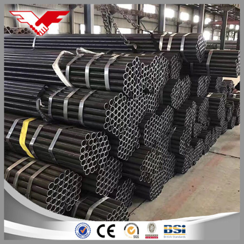Ms Black Tubing Class B Plain End for Construction Material