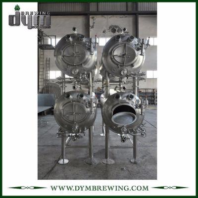 Fermentador horizontal industrial personalizado de 10bbl (EV 10BBL, TV 13BBL) para hacer cerveza artesanal