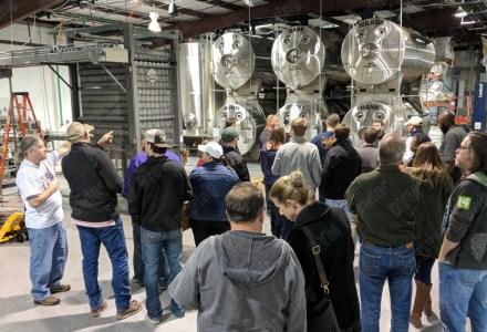 Réservoir horizontal de DYM pour la bière blonde