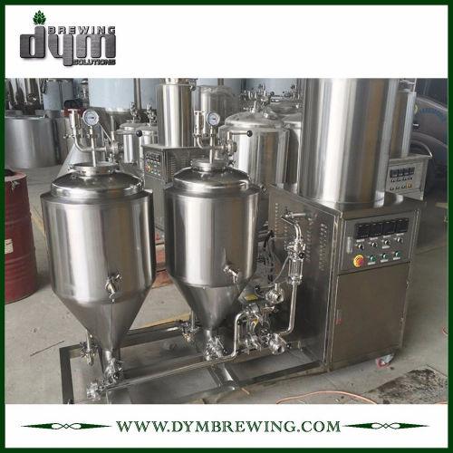 Sistema de elaboración de cerveza piloto personalizado de 200L para cervecería de pub