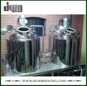 Sistema de elaboración de cerveza piloto personalizado de 100L para cervecería de pub