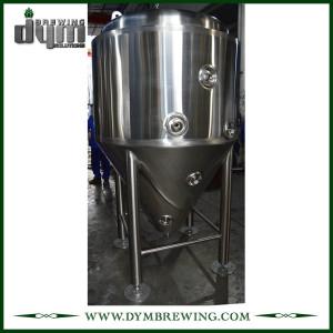 Fermenteur 10bbl Unitank adapté aux besoins du client par professionnel pour la fermentation de brasserie de bière avec la veste de glycol