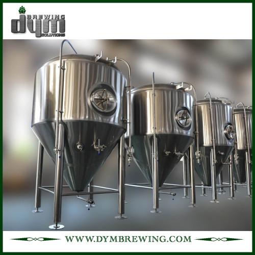 Fermentador Unitank 10bbl personalizado profesional para fermentación de cervecería con chaqueta de glicol