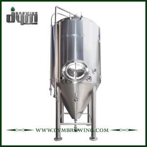 Fermenteur 50bbl Unitank adapté aux besoins du client professionnel pour la fermentation de brasserie de bière avec la veste de glycol