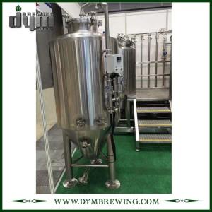 Fermenteur 300L Unitank adapté aux besoins du client par professionnel pour la fermentation de brasserie de bière avec la veste de glycol