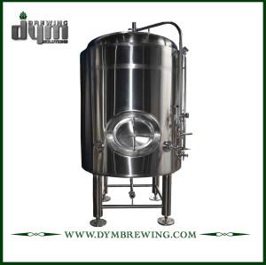 Tanque de cerveza brillante personalizado de 80HL para elaboración de cerveza en pub