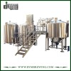 Customized Industrial Steam Heating 2 Vessels Craft Beer Brewing Equipment for Brewhouse