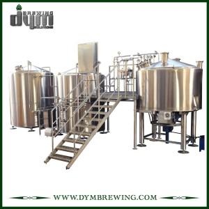 Équipement industriel adapté aux besoins du client de brassage de bière de métier de chauffage de 2 navires de feu direct pour la brasserie