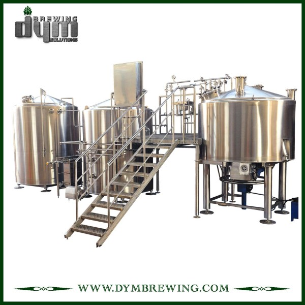 Customized Industrial Direct Fire Heating 2 Vessels Craft Beer Brewing Equipment for Brewhouse