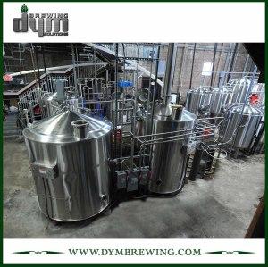 Equipo de elaboración de cerveza artesanal de 2 recipientes de calefacción eléctrica industrial personalizados para sala de cocción