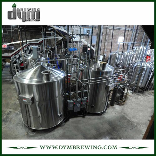 Calentamiento eléctrico industrial personalizado 3 recipientes Equipo de elaboración de cerveza artesanal para sala de cocción