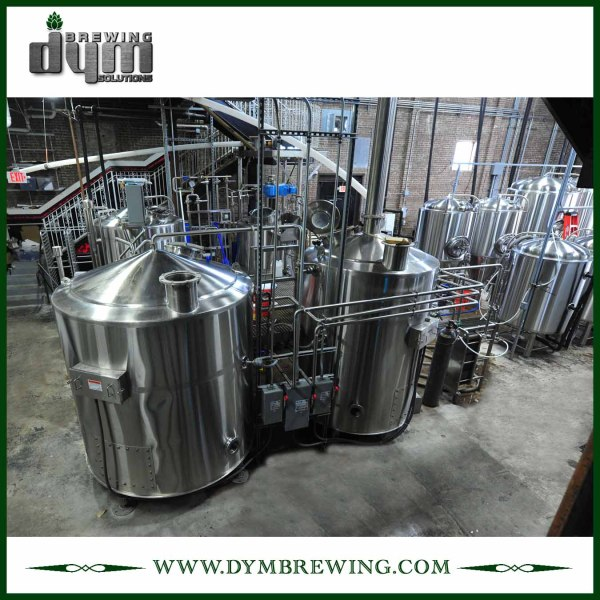 Brewing Beer Equipment for Sale | Custom 4 Vessels Direct Fire Heating Beer Brewing System for Brewery