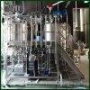Calentamiento de vapor industrial personalizado 4 recipientes Equipo de elaboración de cerveza artesanal para cervecería