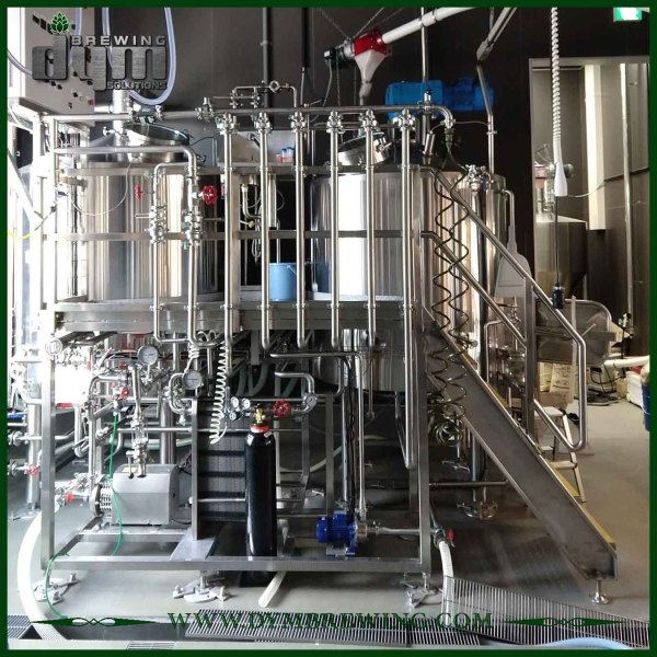 Customized Industrial Electric Heating 2 Vessels Craft Beer Brewing Equipment for Brewhouse
