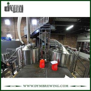 Calefacción eléctrica industrial personalizada 4 recipientes Equipo de elaboración de cerveza artesanal para sala de cocción