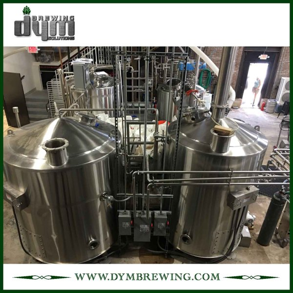 Commercial Beer Brewing Equipment for Brewery | Customized 4 Vessels Steam Heating Beer Brewing System for Brewery
