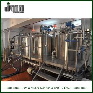 Équipement de brassage de bière artisanale de 3 navires de chauffage électrique industriel adapté aux besoins du client pour la brasserie