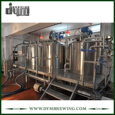 Cervecería de 3 recipientes de calefacción eléctrica para cervecería artesanal