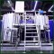 Customized Industrial Direct Fire Heating 4 Vessels Craft Beer Brewing Equipment for Brewhouse