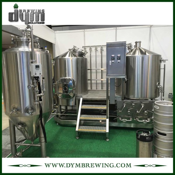 SUS304 Stainless Steel Turnkey 3bbl Nano Beer Brewing Equipment for Brewery