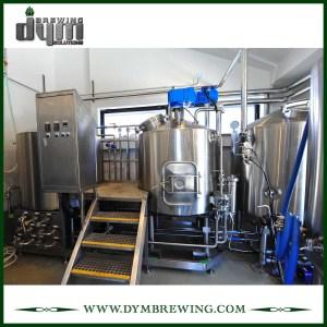 Équipement de brassage de bière nano clé en main de l'acier inoxydable SUS304 300L pour la brasserie