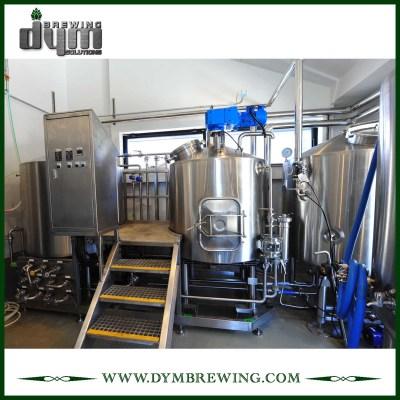 SUS304 Equipo de elaboración de cerveza nano llave en mano 300L de acero inoxidable para cervecería
